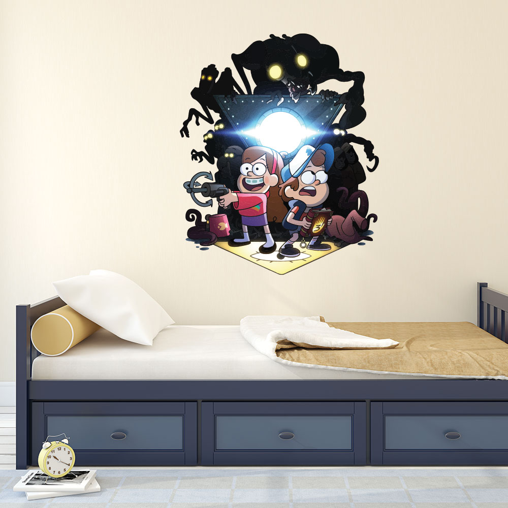 Adesivo de Parede Gravity Falls