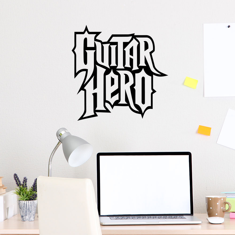 Adesivo de Parede Guitar Hero