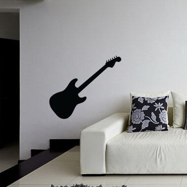 Adesivo de Parede Guitarra Clássica