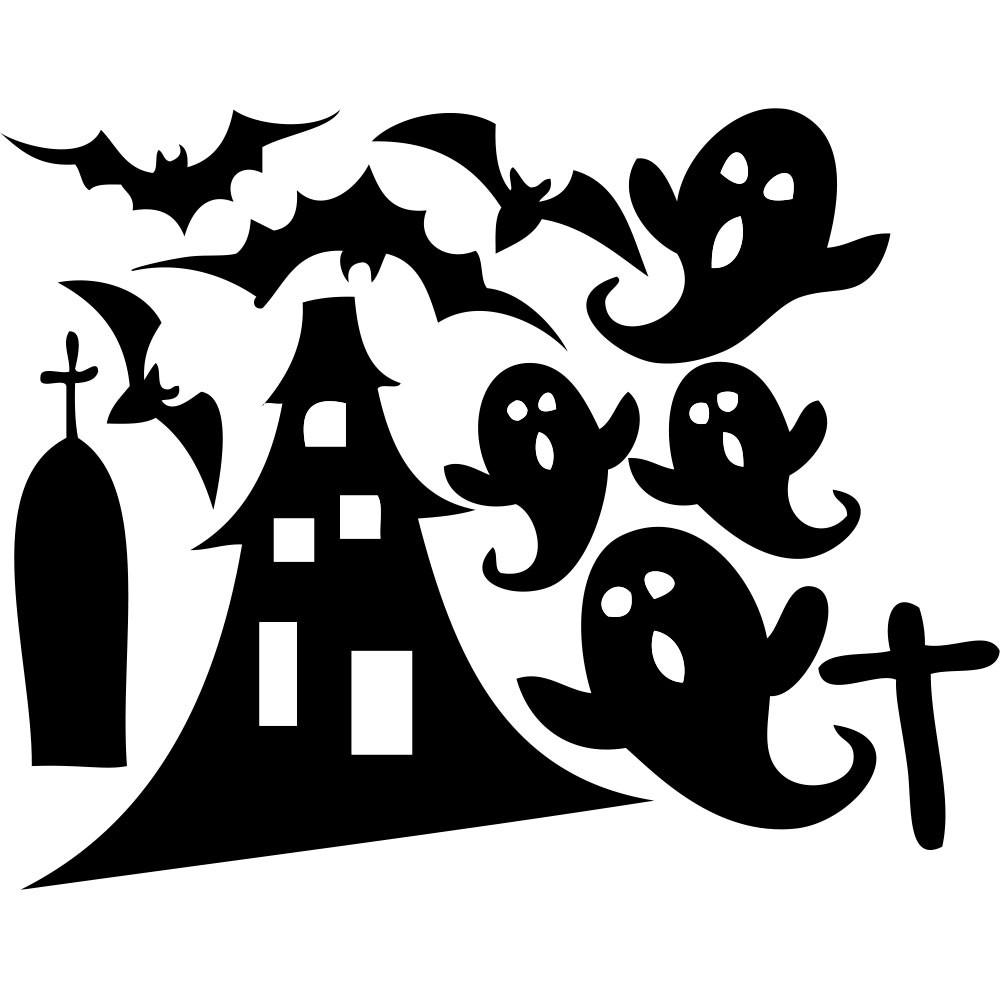 Adesivo de Parede Halloween