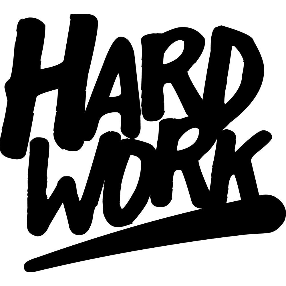 Adesivo de Parede Hardwork Novo