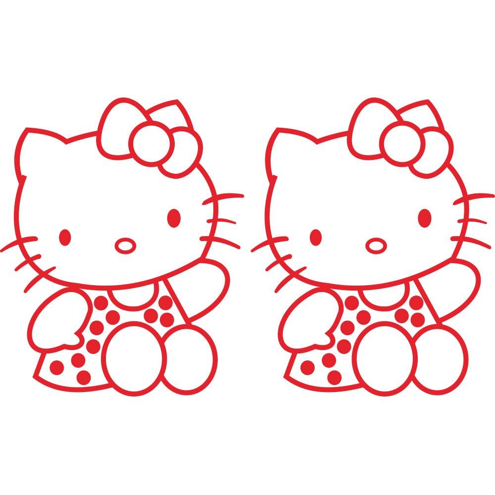 Adesivo de Parede Hello Kitty