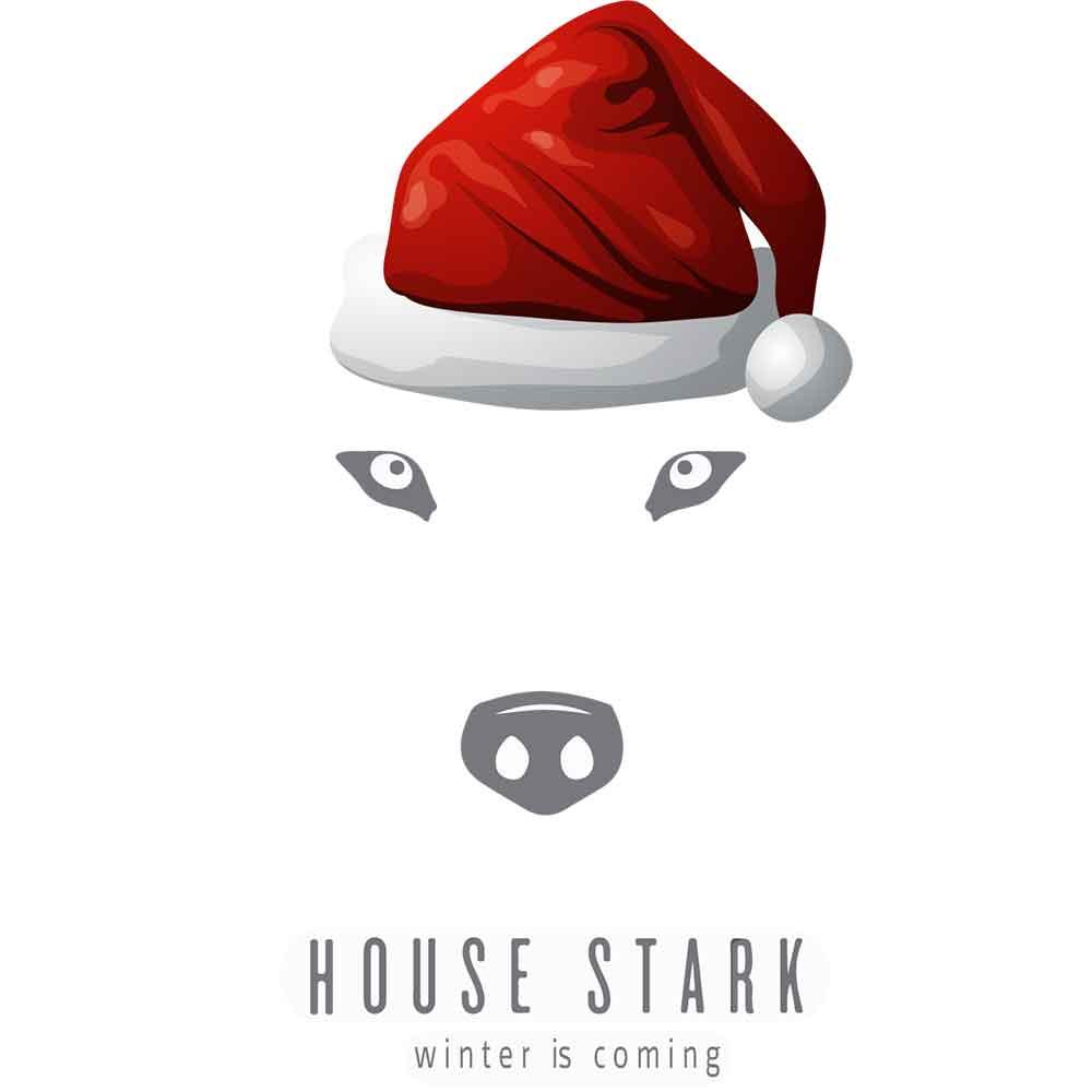 Adesivo de Parede House Stark Winter is Coming