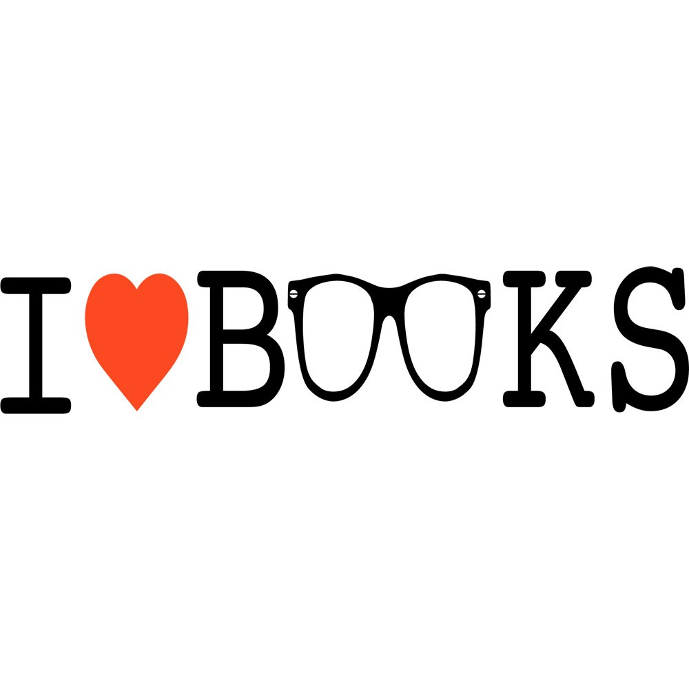 Adesivo de Parede I Love Books