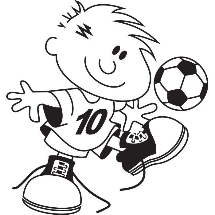 Adesivo de Parede Infantil Futebol