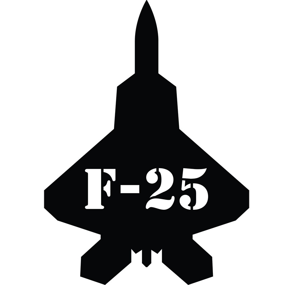 Adesivo de Parede Jato F-25