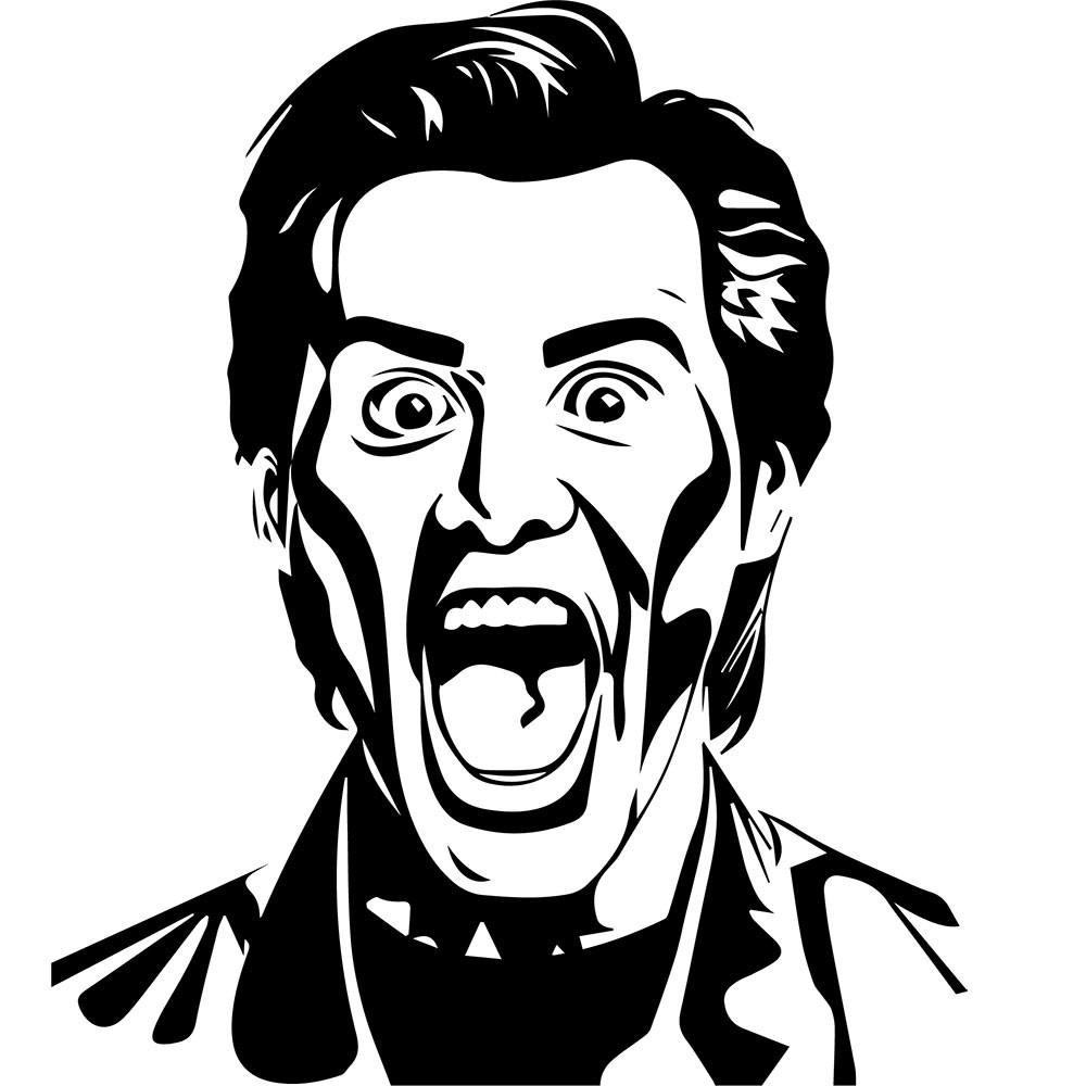Adesivo de Parede Jim Carrey