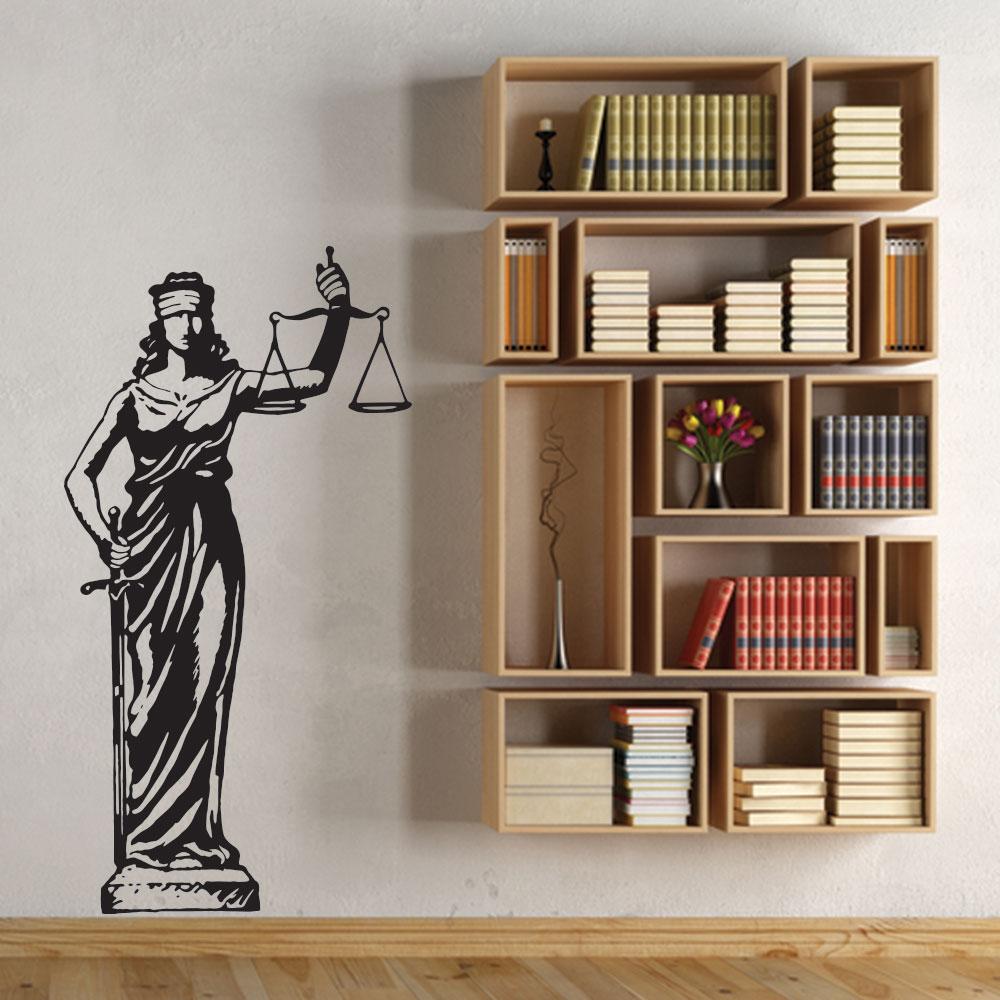 Adesivo de Parede Lady Justice