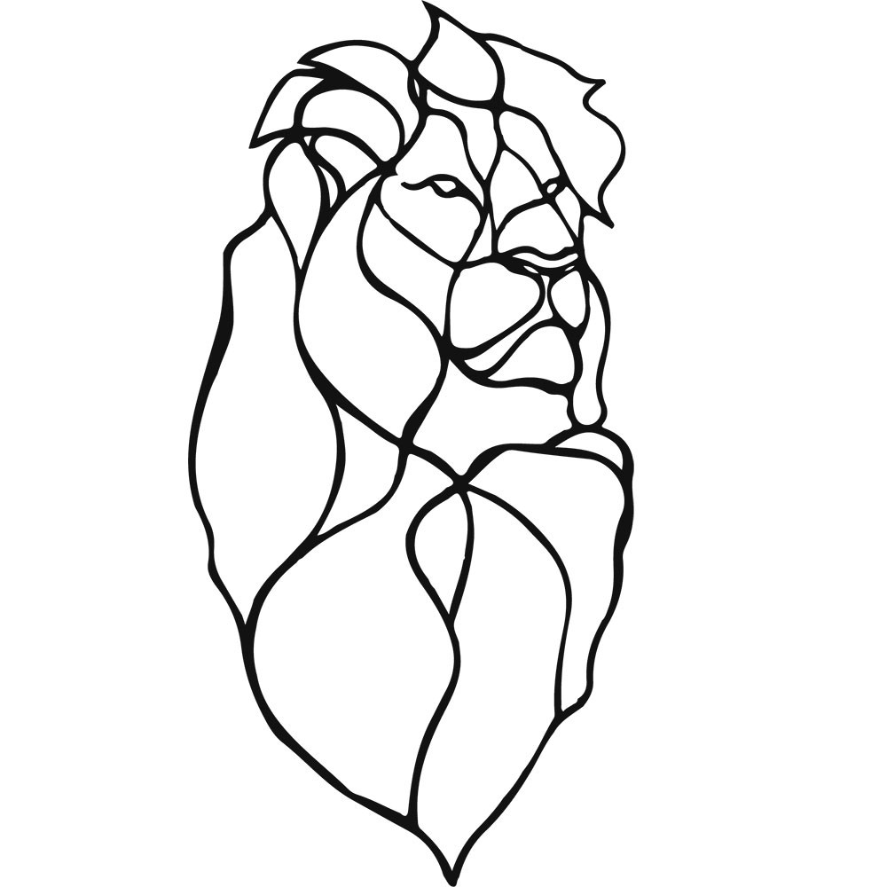 Adesivo de Parede Lion