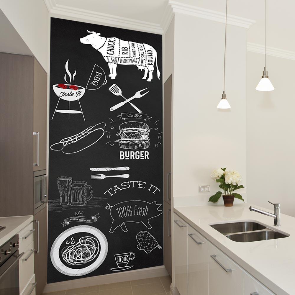 Adesivo de parede Lousa/ Chalkboard Cozinha