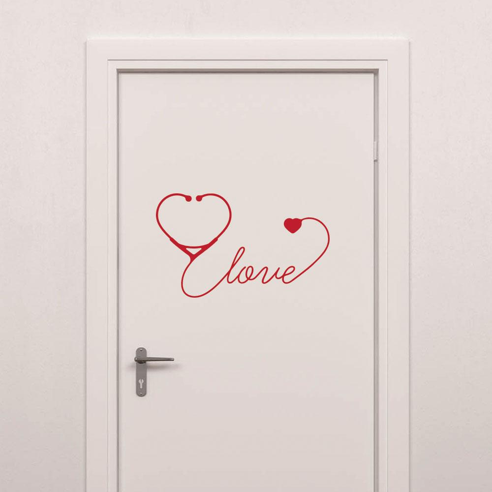 Adesivo de Parede Love Medicina
