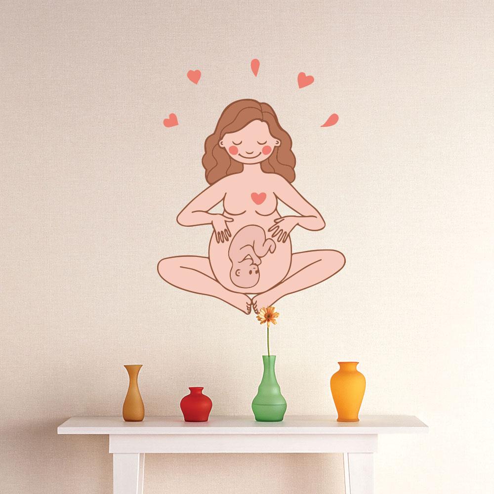 Adesivo de Parede Maternidade