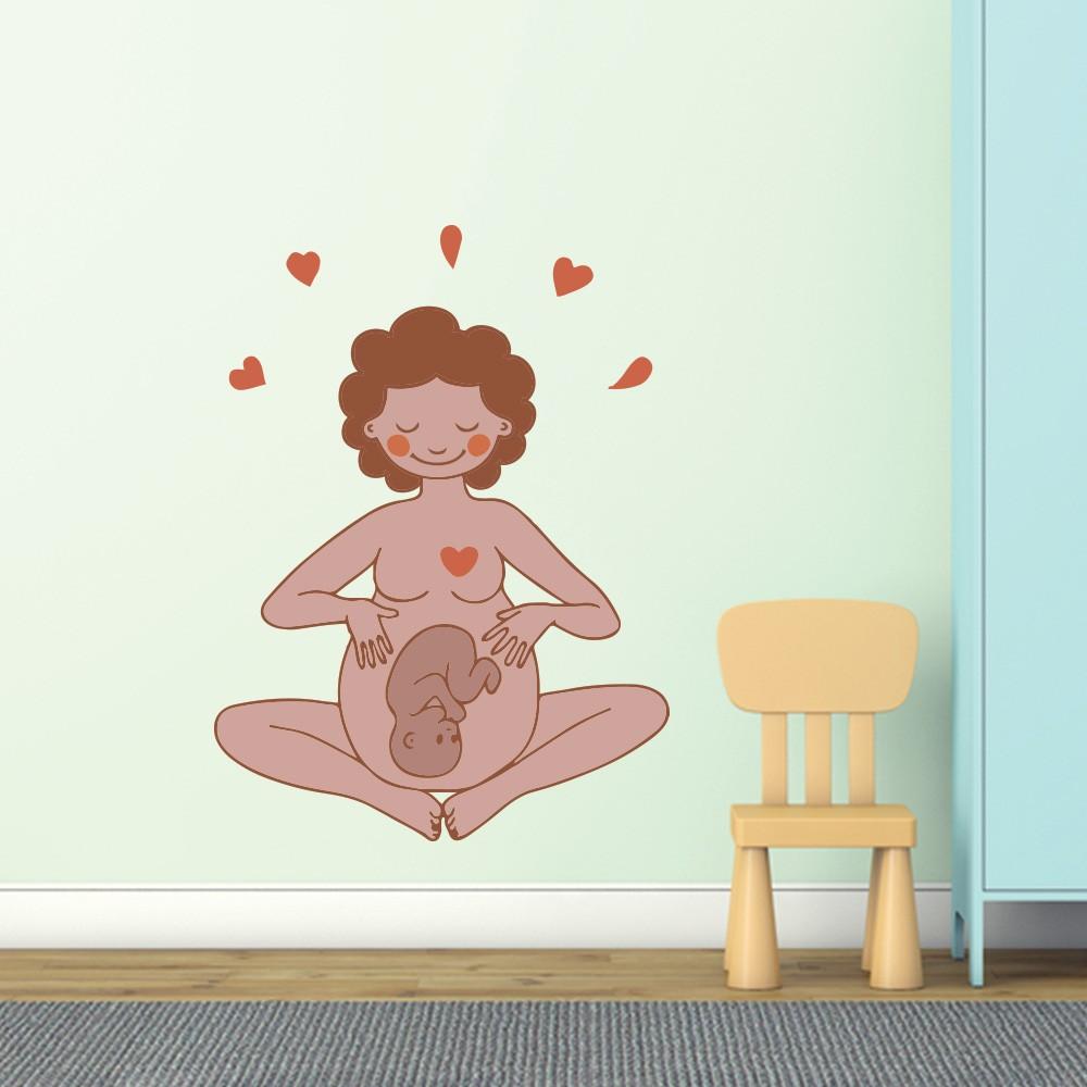 Adesivo de Parede Maternidade 6