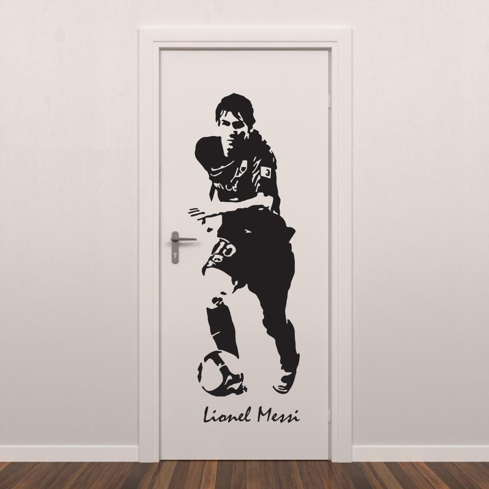Adesivo de Parede Messi Futebol