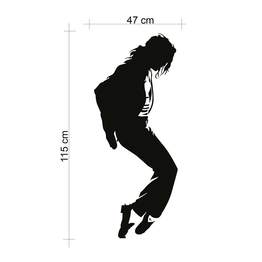 Adesivo de Parede Michael Jackson II