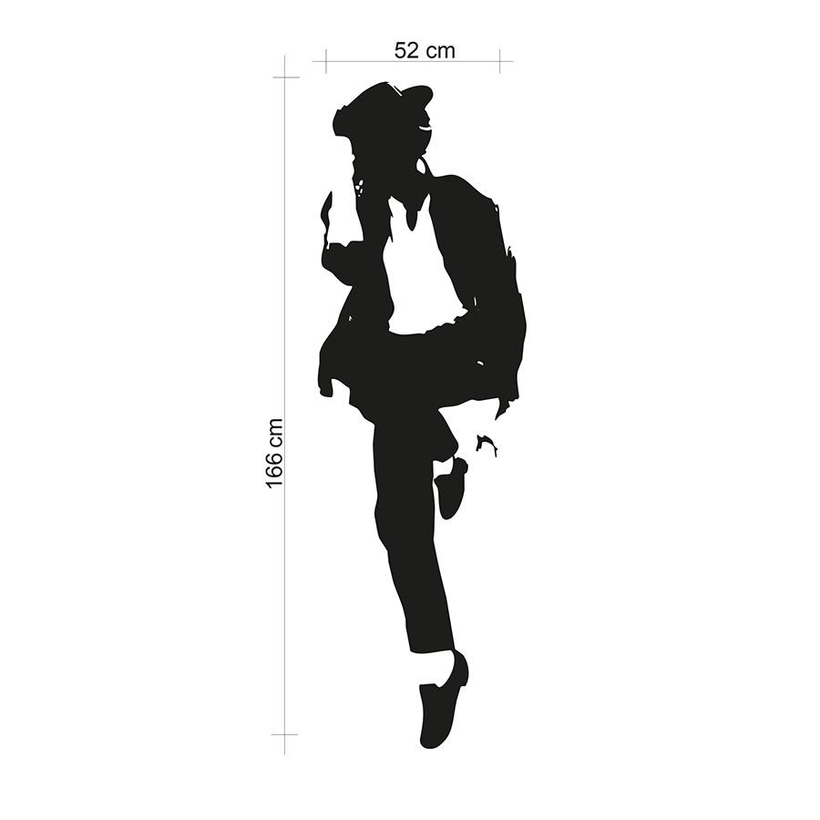 Adesivo de Parede Michael Jackson III