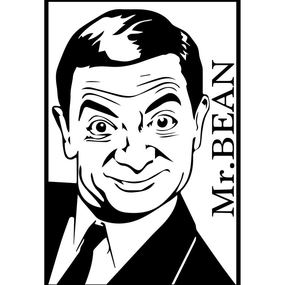 Adesivo de Parede Mr.Bean