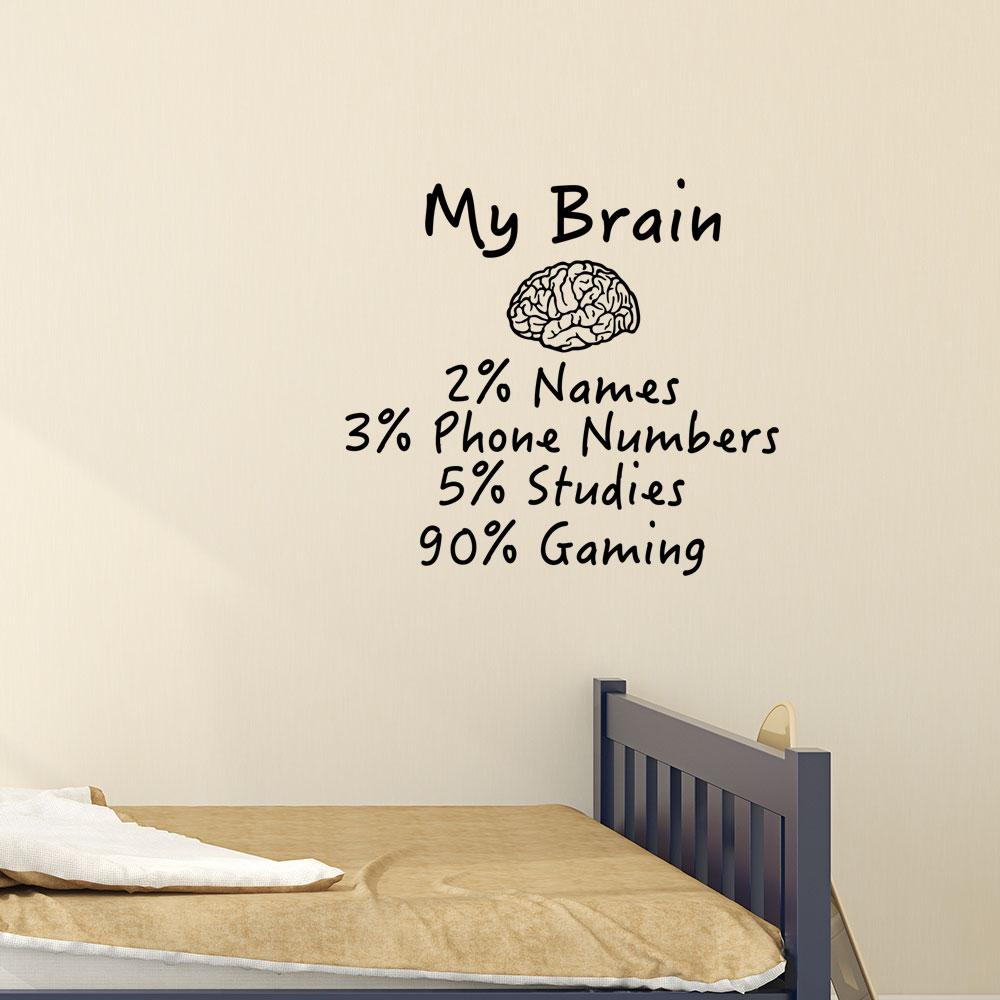 Adesivo de Parede My Brain