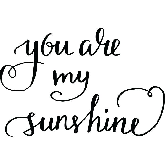 Adesivo de Parede My Sunshine