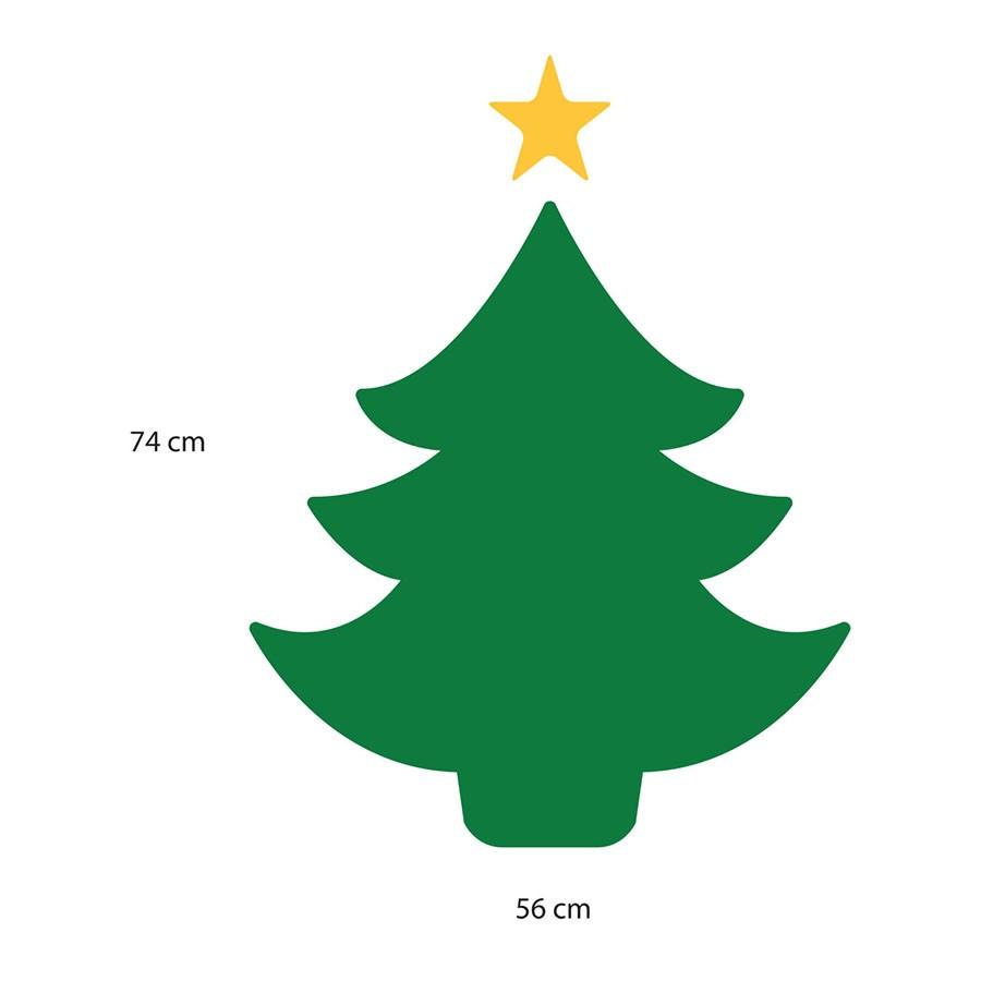 Adesivo de Parede Natal Árvore