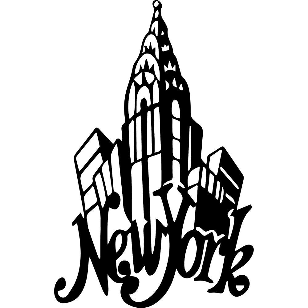Adesivo de Parede New York Rap