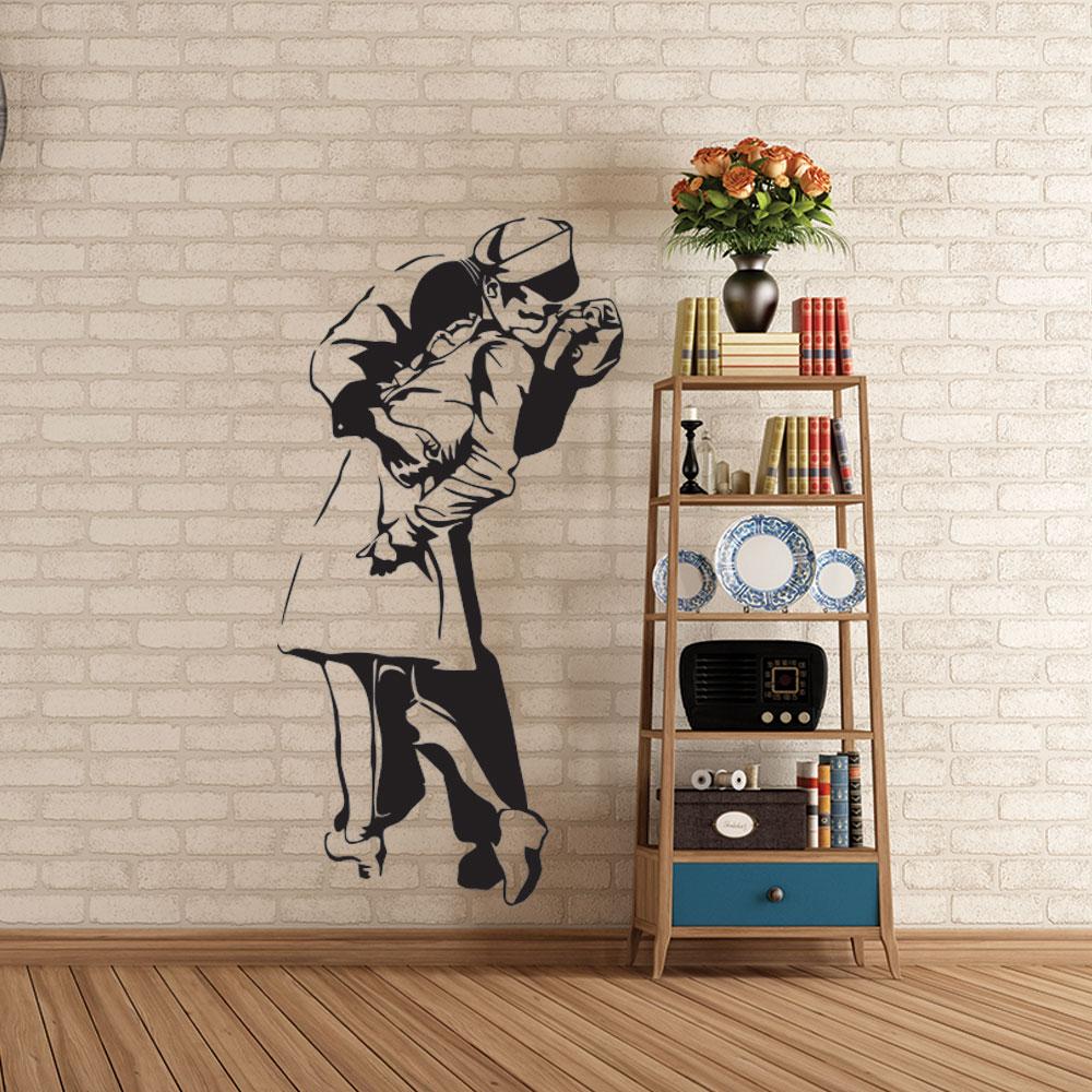 Adesivo de Parede O Beijo Histórico
