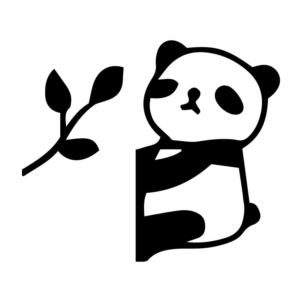 Adesivo de Parede Pandinha Bambu