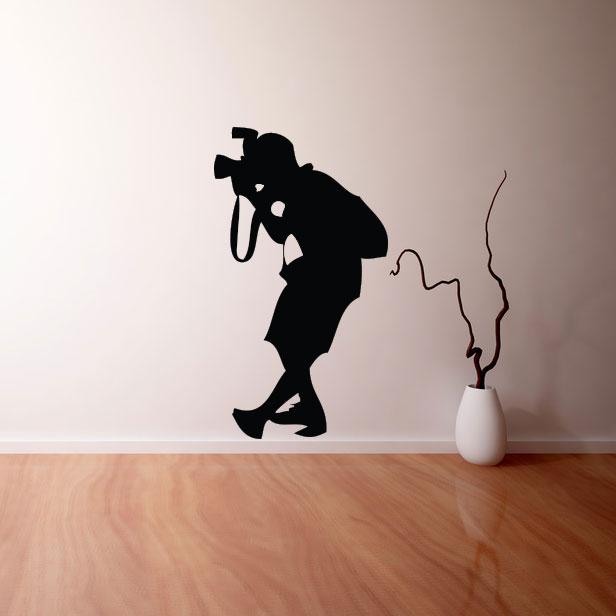 Adesivo de Parede Photo Man
