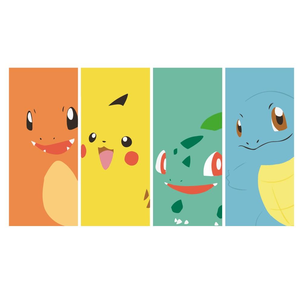 Adesivo de Parede Pokémon Faixas
