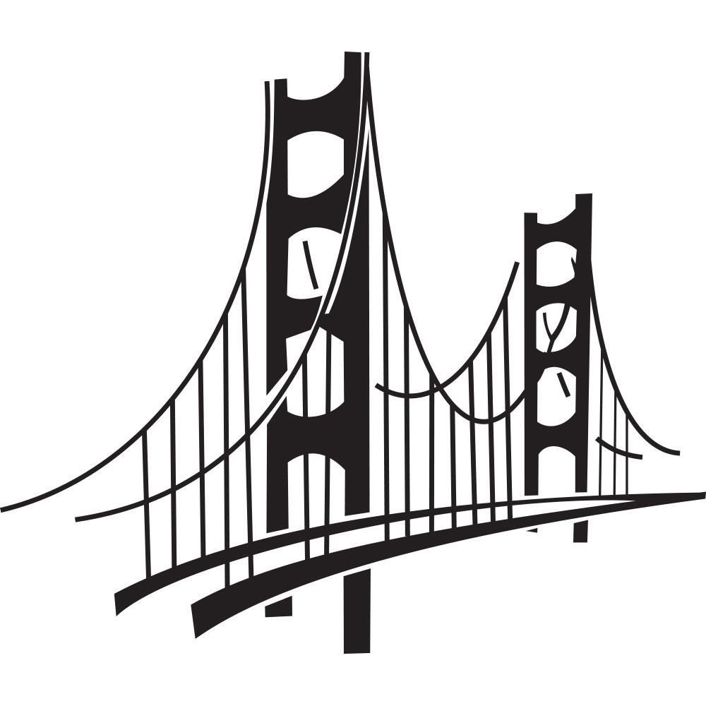 Adesivo de Parede Ponte São Francisco