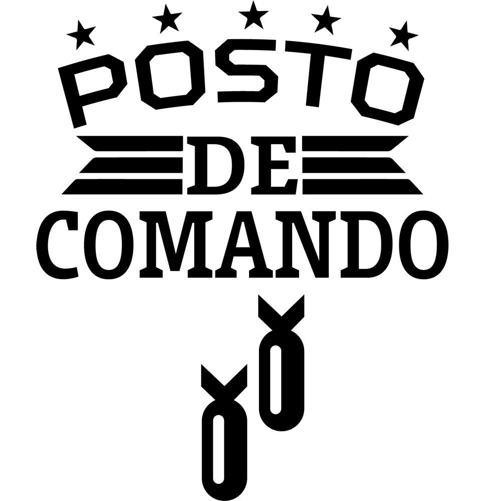 Adesivo de Parede Posto de Comando