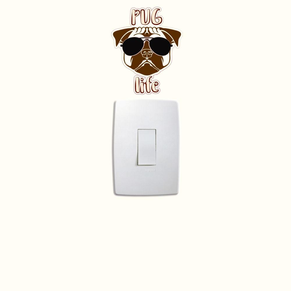 Adesivo de Parede PugLife
