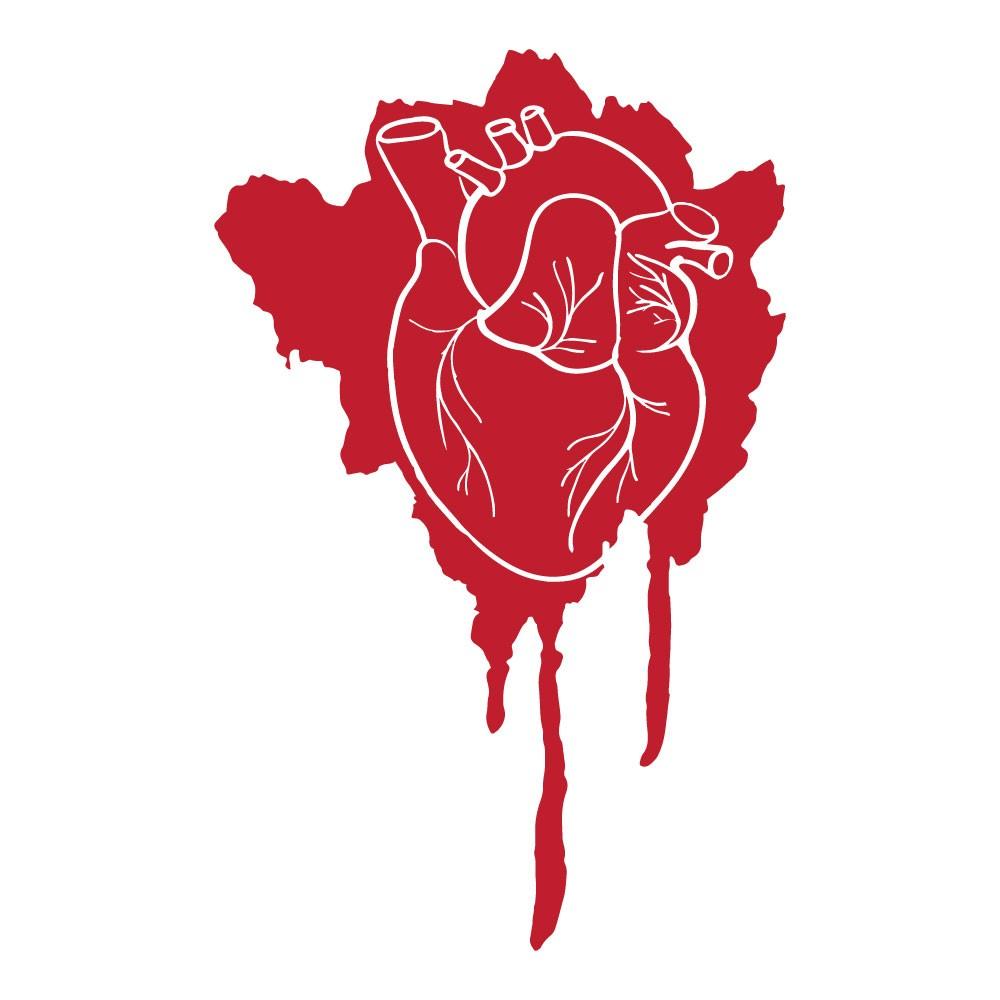 Adesivo de Parede Realistic Heart