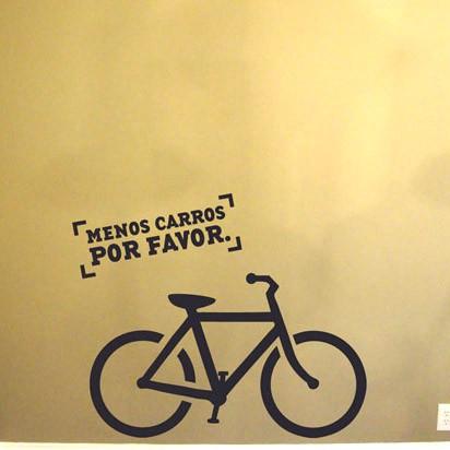 Adesivo de Parede Vá de Bike