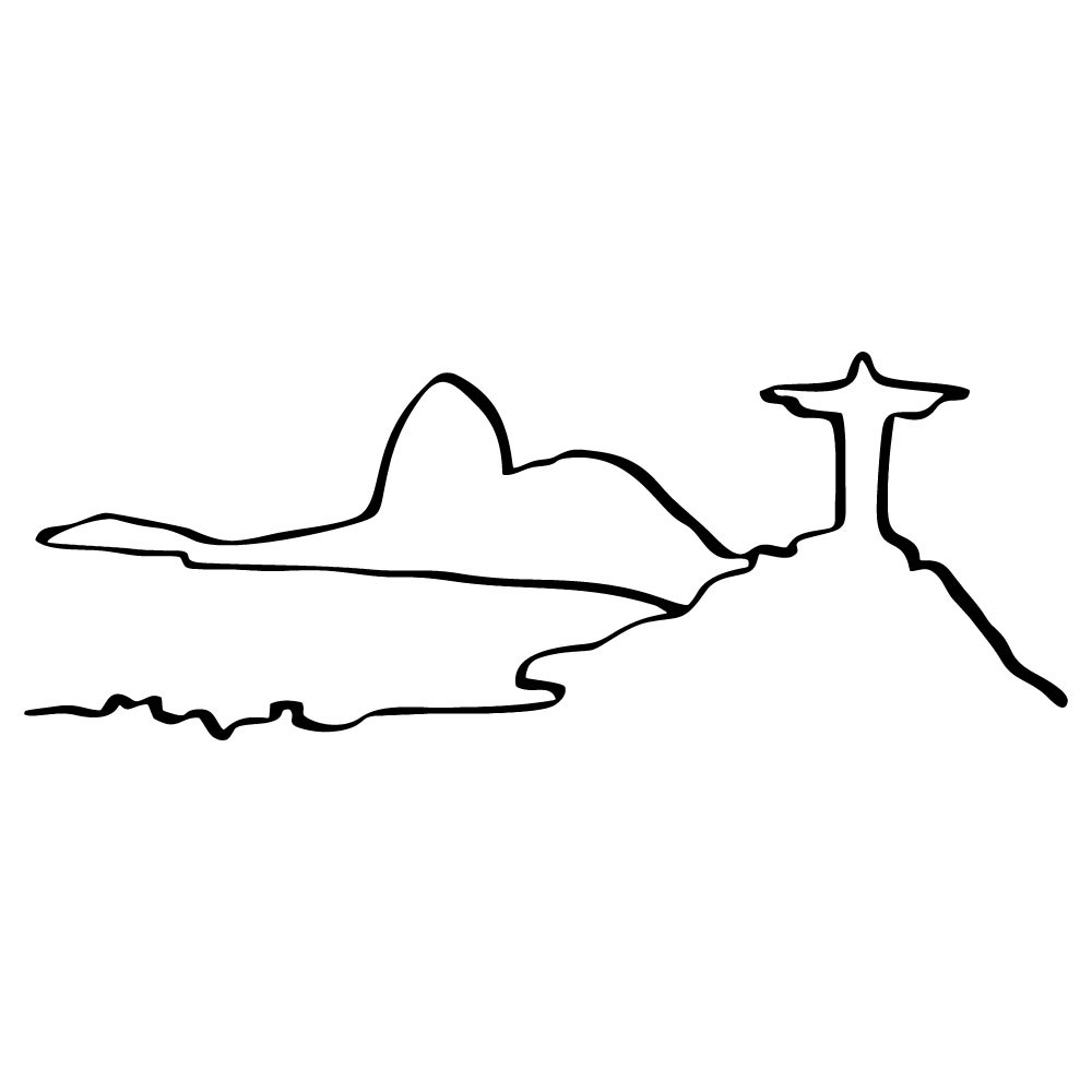 Adesivo de Parede Rio de Janeiro