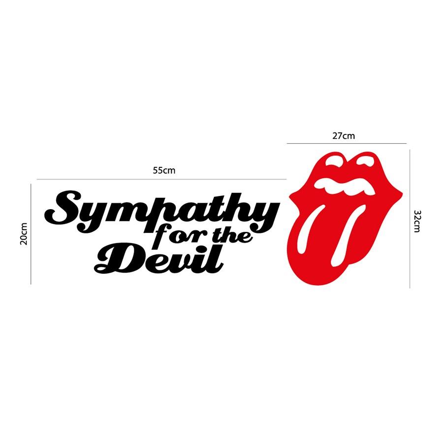 Adesivo de Parede Rolling Stones