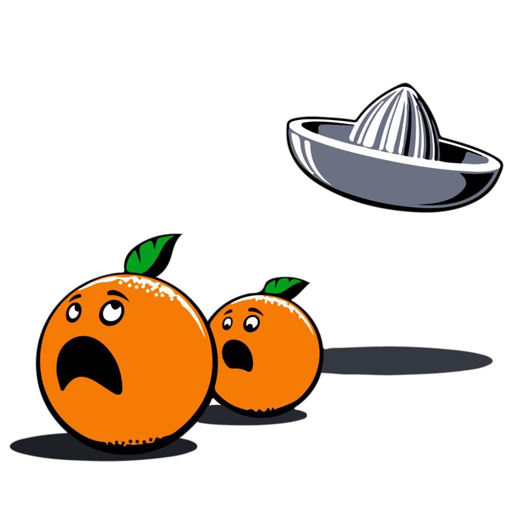 Adesivo de Parede Run Orange
