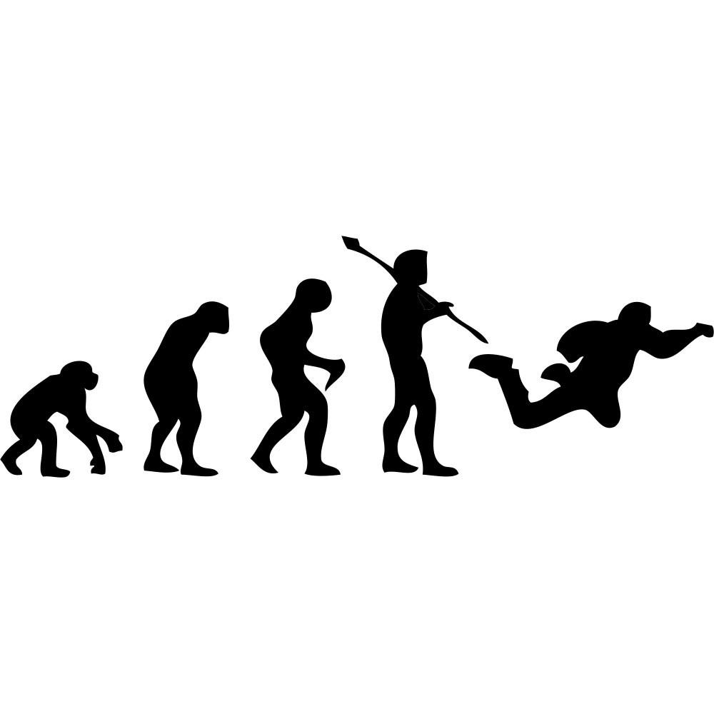 Adesivo de Parede Skydive Evolution