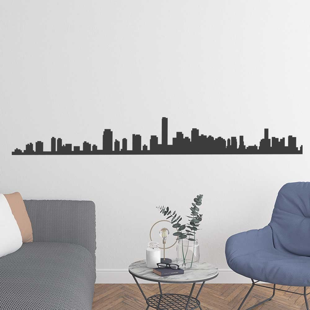 Adesivo de Parede Skyline Miami