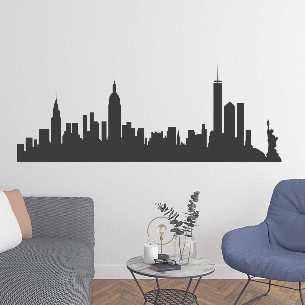 Adesivo de Parede Skyline New York I