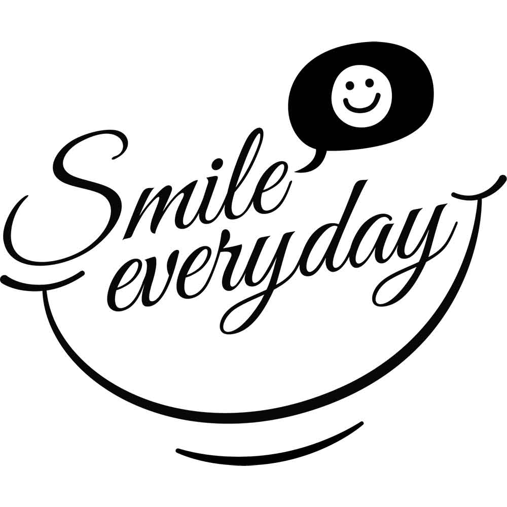 Adesivo de Parede Smile Everyday