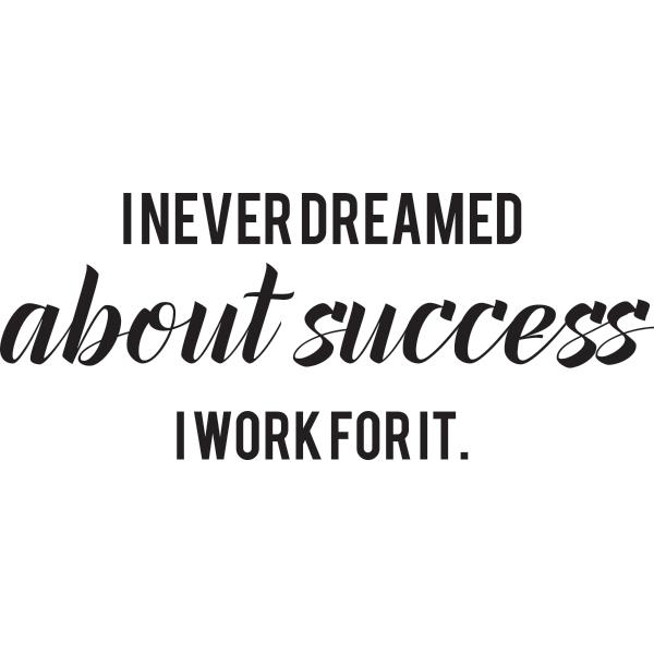 Adesivo de Parede Success Dream