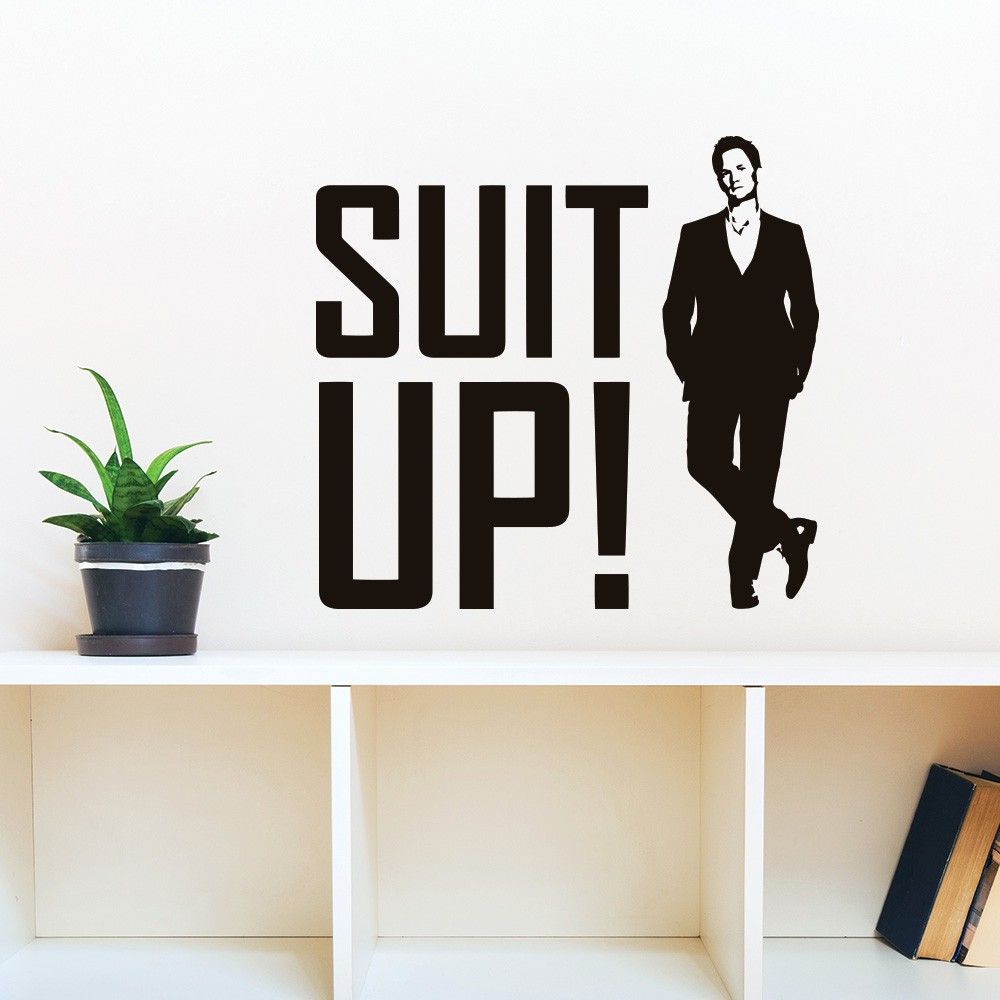 Adesivo de Parede Suit Up HIMYM