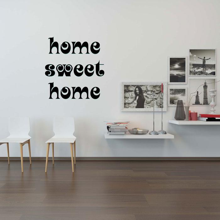 Adesivo de Parede Sweet Home