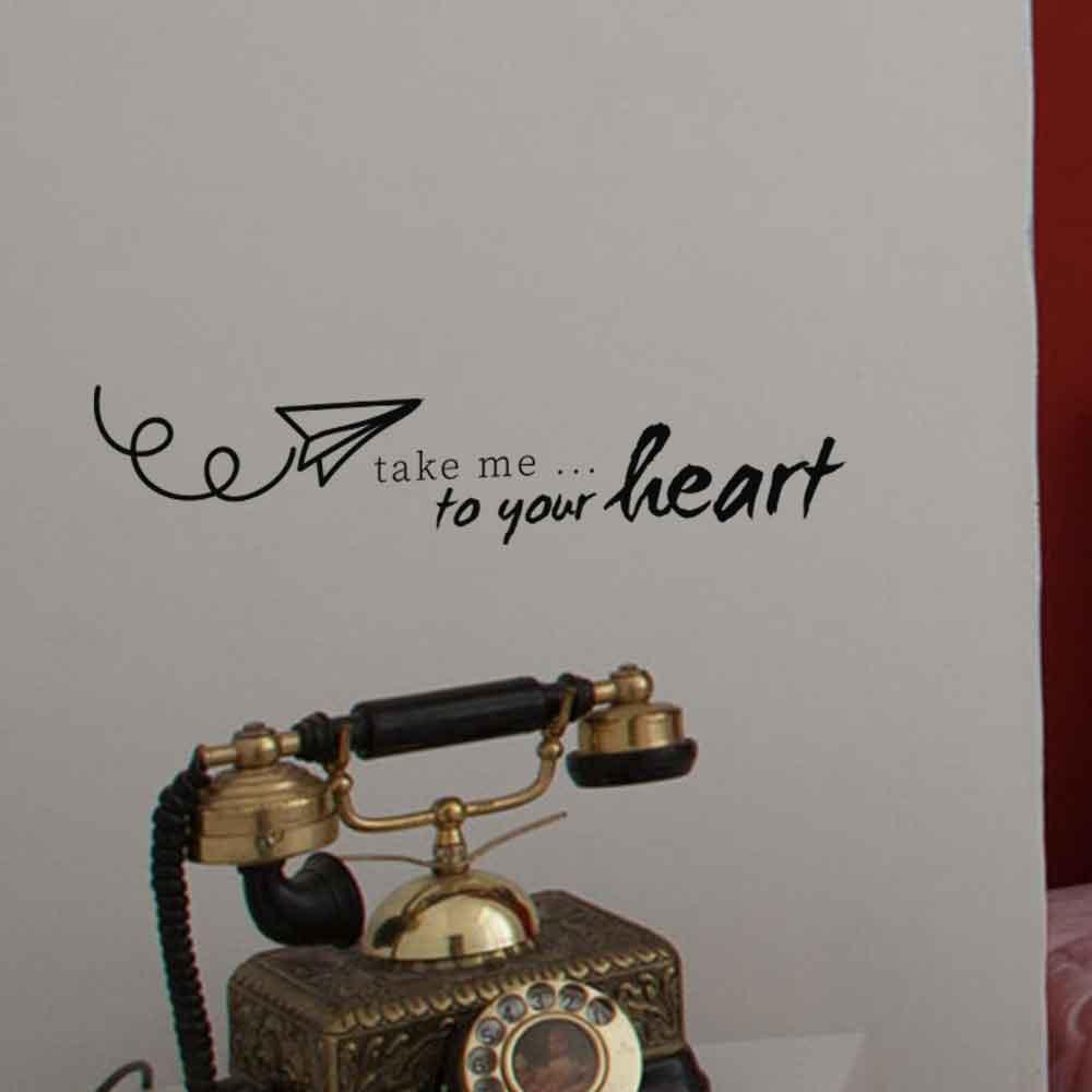 Adesivo de Parede Take me to Your Heart
