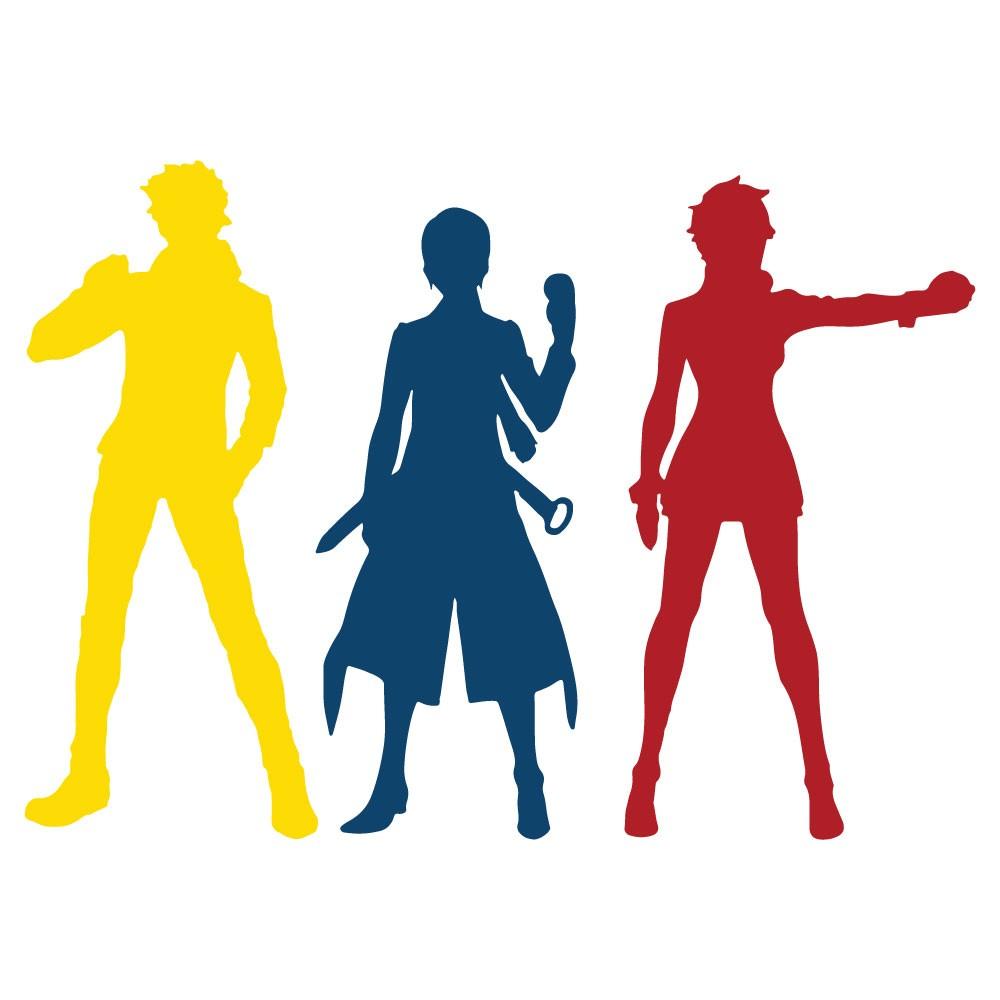 Adesivo de Parede Team Leaders Pokemon Go