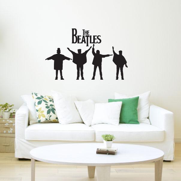 Adesivo de Parede The Beatles