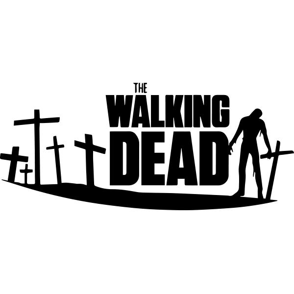 Adesivo de Parede The Walking Dead