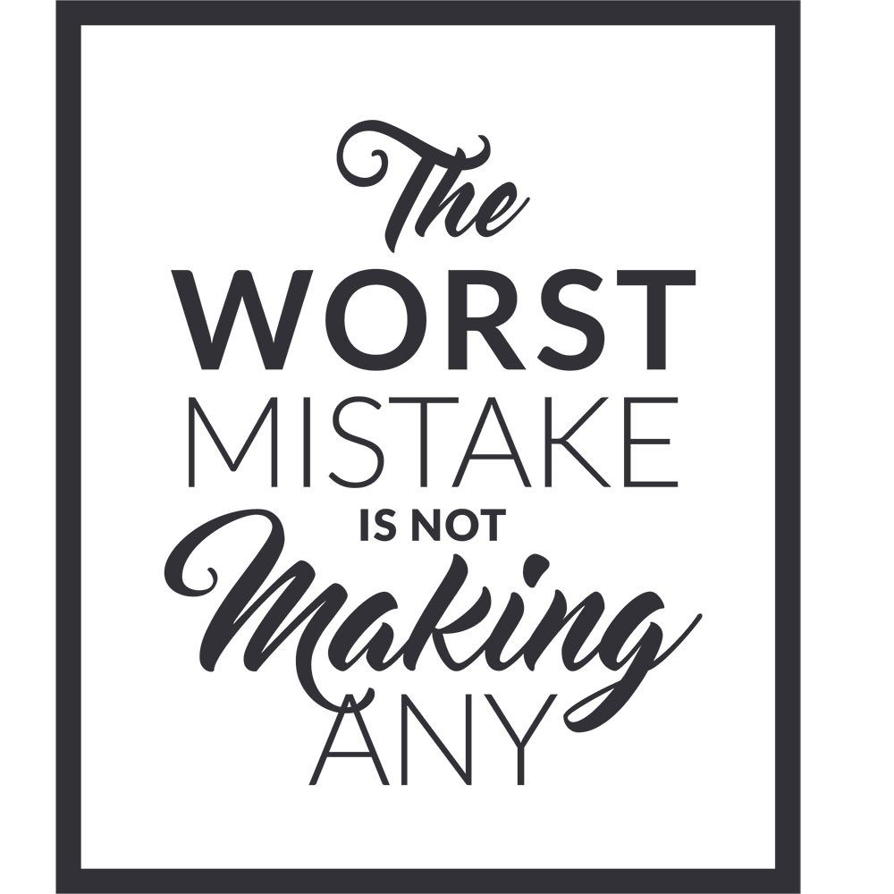 Adesivo de Parede The Worst Mistake