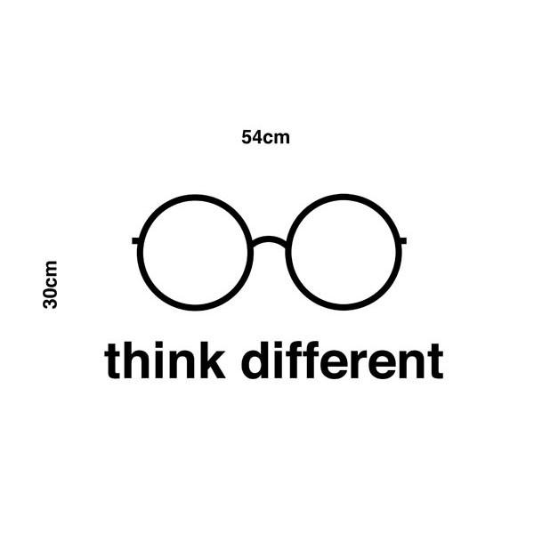 Adesivo de Parede Think Different